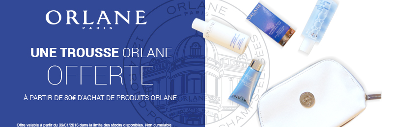 Offre Orlane