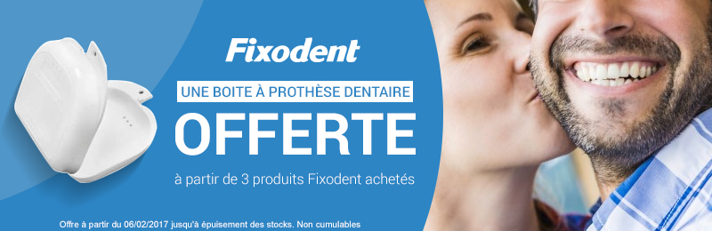 Offre fixodent