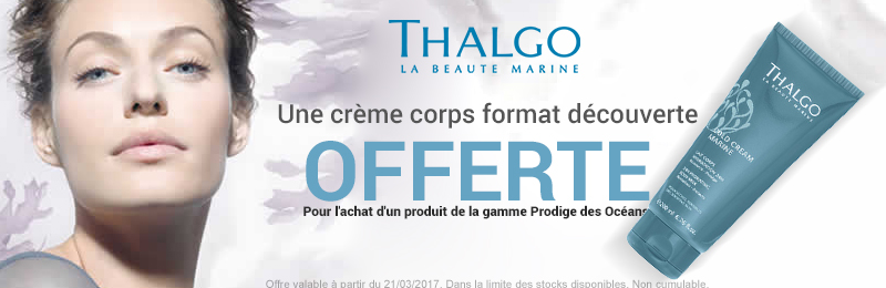 Offre thalgo