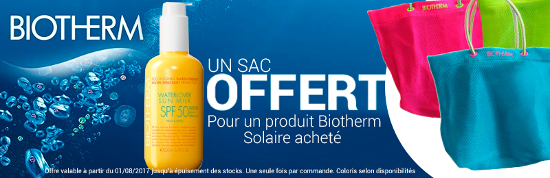 Offre Biotherm solaire