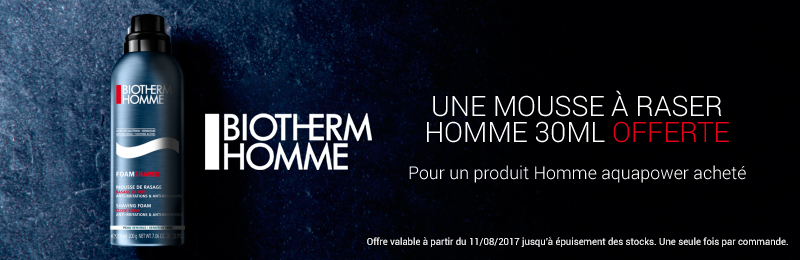 Offre Biotherm homme