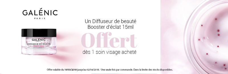Offre GALENIC