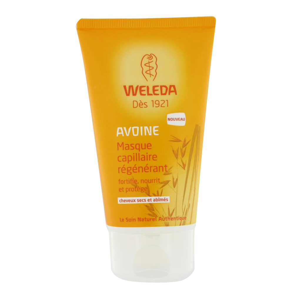 prix de weleda avoine masque capillaire r g n rant 150ml. Black Bedroom Furniture Sets. Home Design Ideas