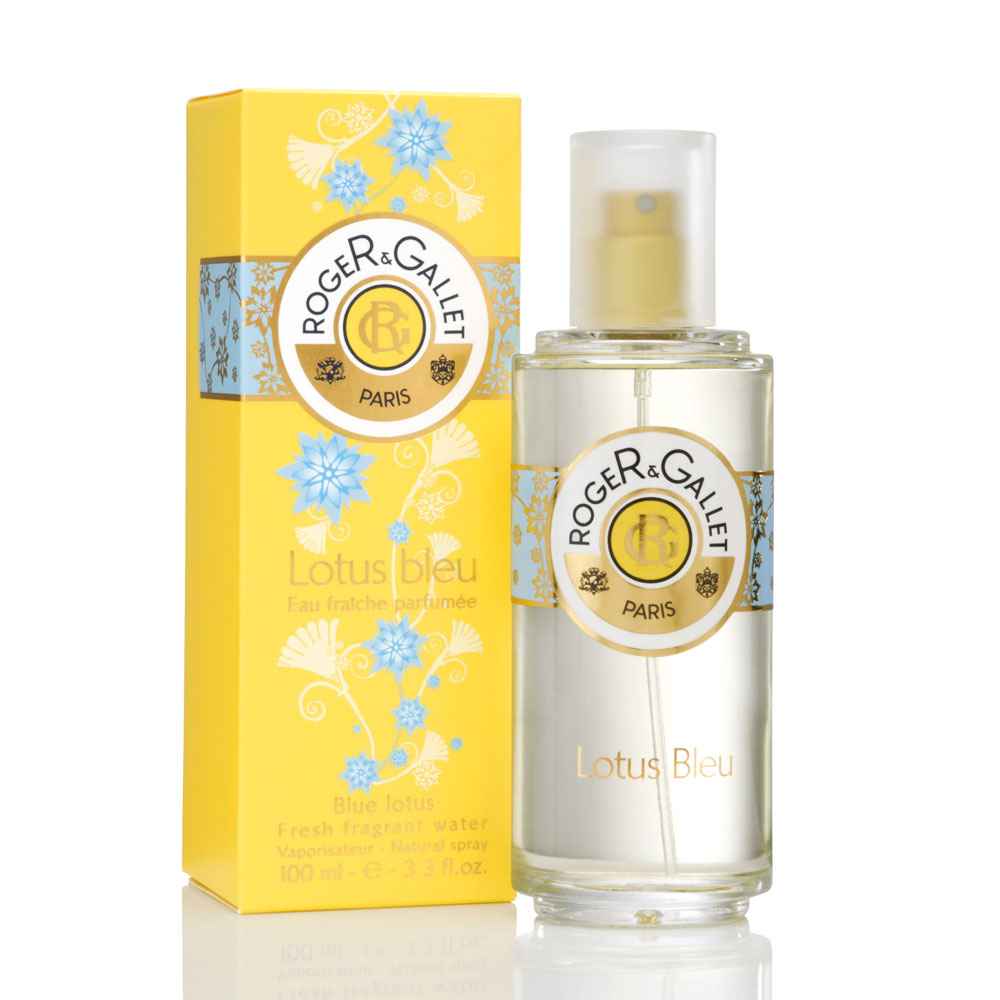 prix de roger gallet eau fraiche parfumee au lotus bleu 100 ml. Black Bedroom Furniture Sets. Home Design Ideas