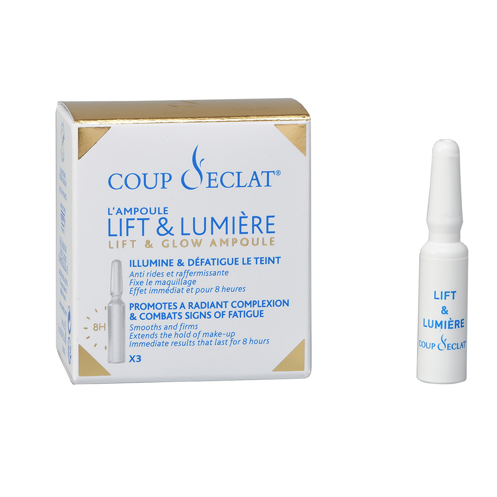 Ampoules Lifting Immediat 3x1ml Coup D'Eclat