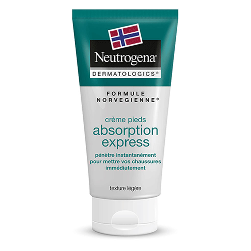 Creme Pieds Absorption Express Formule Norvegienne 100ml Neutrogena