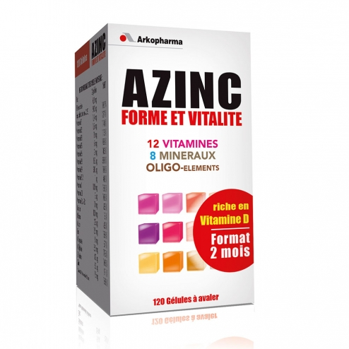 azinc optimal adultes 100 gelules