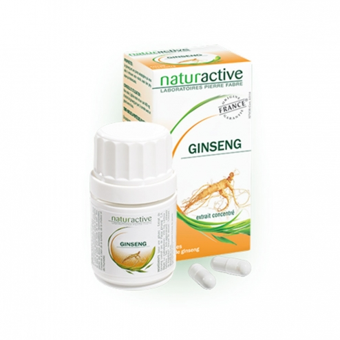 naturactive ginseng 20 gelules - easyparapharmacie