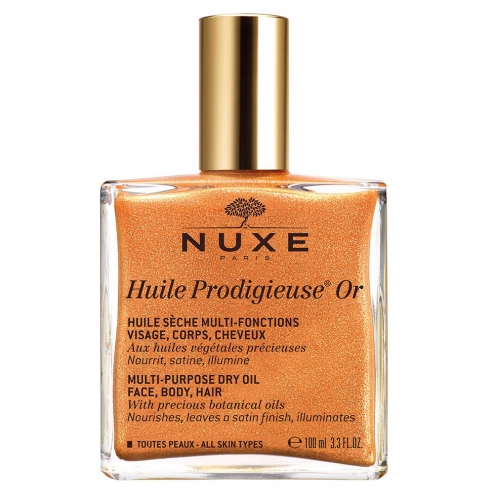 Huile Or Visage Corps Et Cheveux Prodigieuse 100ml Nuxe