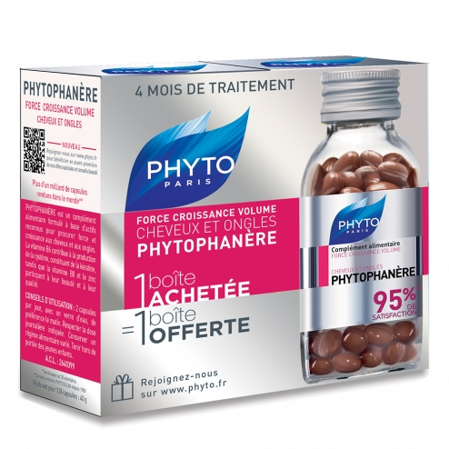phyto phytophanere cheveux et ongles 2x120 capsules. Black Bedroom Furniture Sets. Home Design Ideas