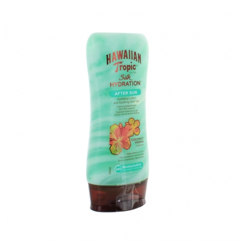 hawaiian tropic silk hydratation lotion apres soleil 180ml. Black Bedroom Furniture Sets. Home Design Ideas