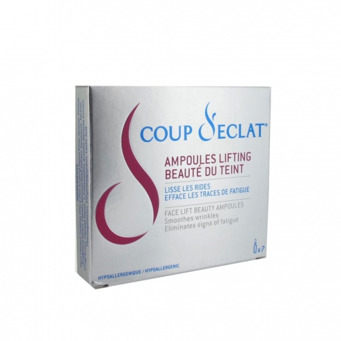 Coup d 39 eclat ampoules lifting 7x1ml easyparapharmacie - Coup d eclat ampoule lifting ...