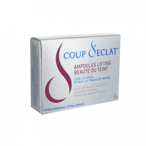coup d 39 eclat ampoules lifting 3x1ml easyparapharmacie. Black Bedroom Furniture Sets. Home Design Ideas