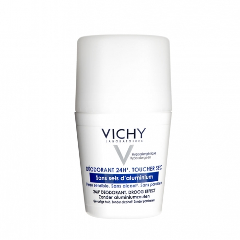 vichy deodorant bille 24h toucher sec peaux sensibles 40ml. Black Bedroom Furniture Sets. Home Design Ideas