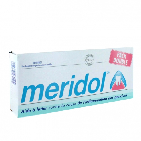 MERIDOL DENTIFRICE PROTECTION GENCIVES 2X75 ML
