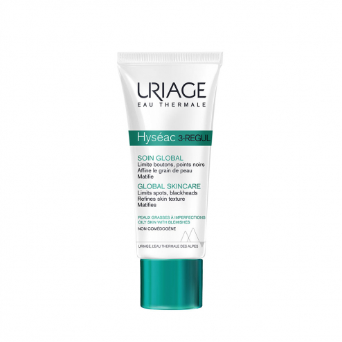 3 Regul Soin Global Peaux Grasses A Imperfections 40ml Hyseac Uriage