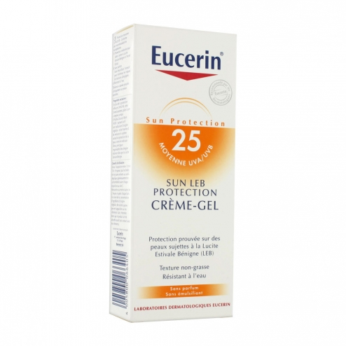eucerin creme gel protection 25 150ml eucerin easyparapharmacie. Black Bedroom Furniture Sets. Home Design Ideas