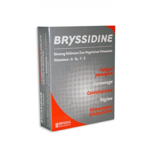 BRYSSIDINE FATIGUE SURMENAGE CONVALESCENCE 30 GELULES
