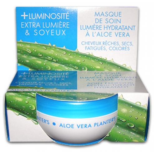 masque de soin lumiere hydratant a l 39 aloe vera cheveux 200ml planter 39 s. Black Bedroom Furniture Sets. Home Design Ideas