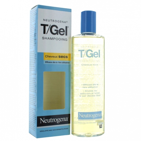 neutrogena t gel shampooing antipelliculaire cheveux secs 250ml. Black Bedroom Furniture Sets. Home Design Ideas