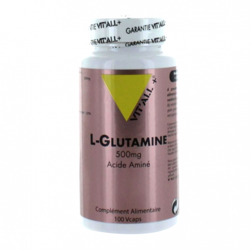 VIT'ALL+ L-GLUTAMINE 500MG 100 GELULES