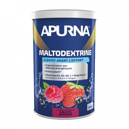 APURNA MALTODEXTRINE 500G - FRUITS ROUGES