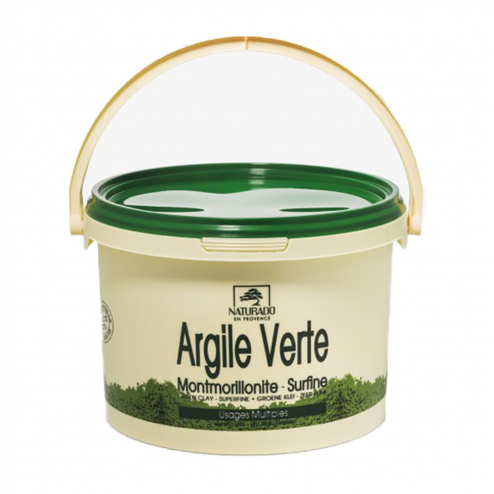 ARGILE VERTE USAGES MULTIPLES 2,5KG NATURADO