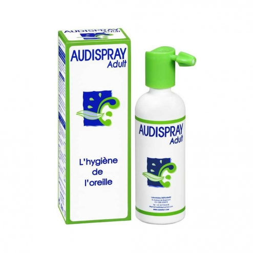 AUDISPRAY ADULT SOLUTION AURICULAIRE SPRAY 50ML