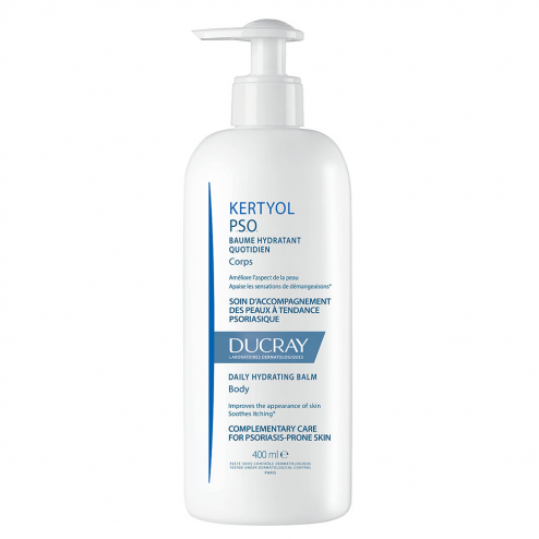 Baume Hydratant Quotidien Corps 400ml Kertyol P.S.O Peaux Psoriasiques Ducray