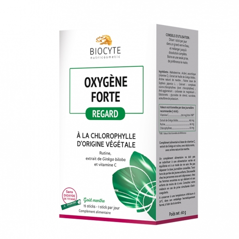 BIOCYTE OXYGENE FORTE REGARD 15 STICKS