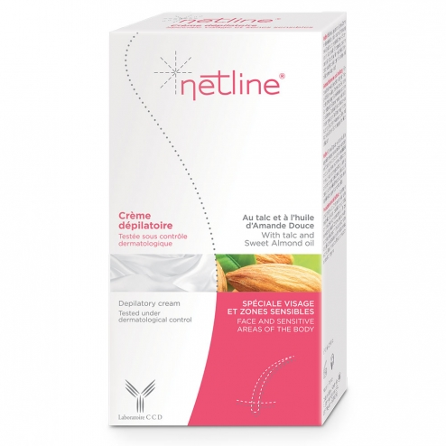 NETLINE CREME DEPILATOIRE VISAGE 75ML