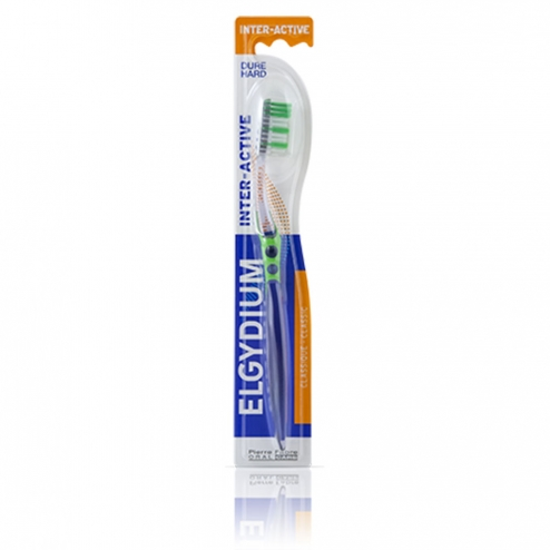 BROSSE A DENTS DURE INTER-ACTIVE ELGYDIUM