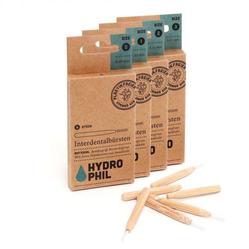 BROSSETTES INTERDENTAIRES BAMBOU HYDROPHIL