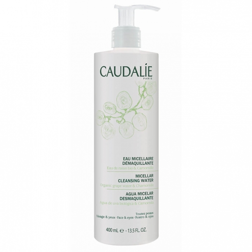 caudalie eau micellaire demaquillante 400ml easyparapharmacie. Black Bedroom Furniture Sets. Home Design Ideas