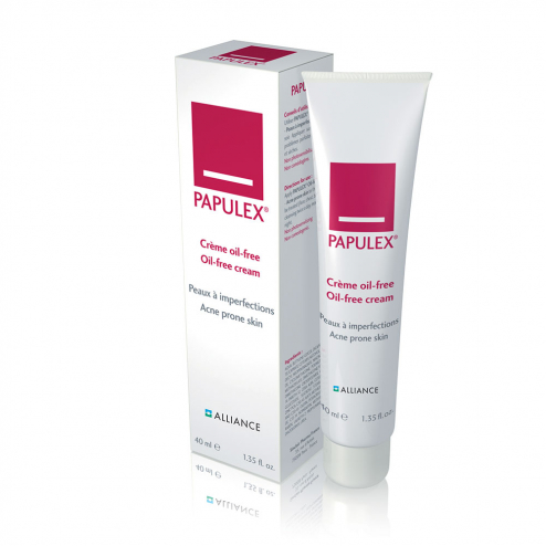 Creme Oil-free 40ml Papulex Peaux A Imperfections Alliance
