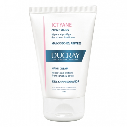 Creme Mains Seches Et Abimees 50ml Ictyane Ducray