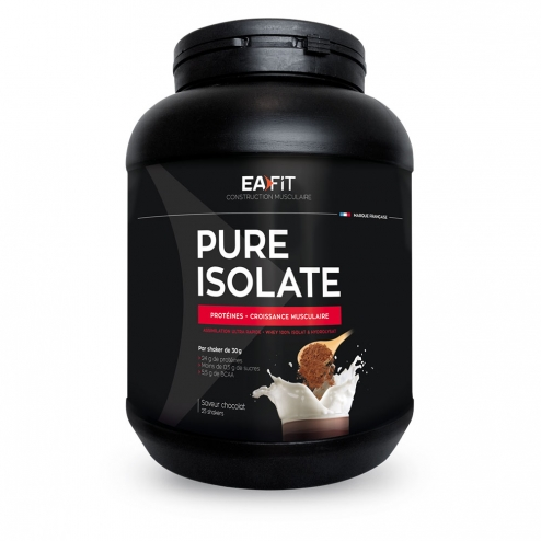 EAFIT PURE ISOLATE 750G - CHOCOLAT NOUGAT