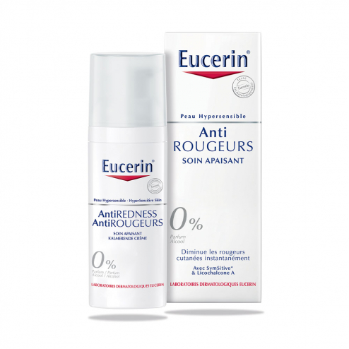 EUCERIN ANTI ROUGEURS SOIN APAISANT PEAU HYPERSENSIBLE 50ML
