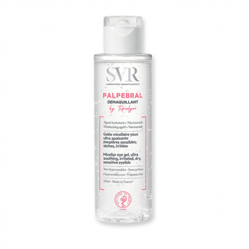 GELEE MICELLAIRE YEUX 125ML PALPEBRAL BY TOPIALYSE DEMAQUILLANT PAUPIERES SENSIBLES SVR