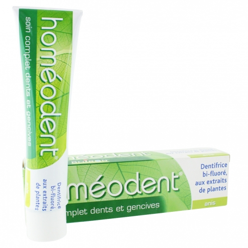 HOMEODENT SOIN COMPLET DENTS ET GENCIVES DENTIFRICE ANIS 75ML