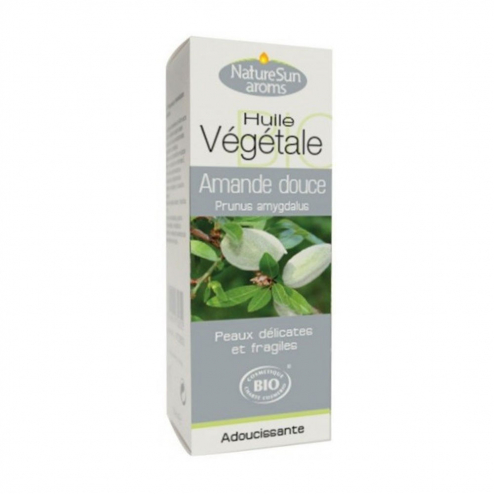 Huile Vegetale Bio Amande Douce 50ml Naturesun Aroms