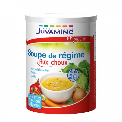 juvamine soupe de regime aux choux 300g easyparapharmacie. Black Bedroom Furniture Sets. Home Design Ideas