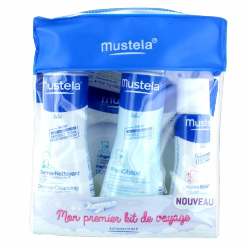 mustela bebe kit de voyage easyparapharmacie. Black Bedroom Furniture Sets. Home Design Ideas