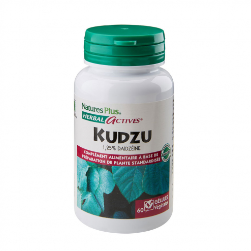 KUDZU 60 GELULES HERBAL ACTIVES NATURES PLUS