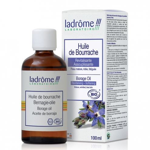 LADROME HUILE VEGETALE DE BOURRACHE BIO 100ML