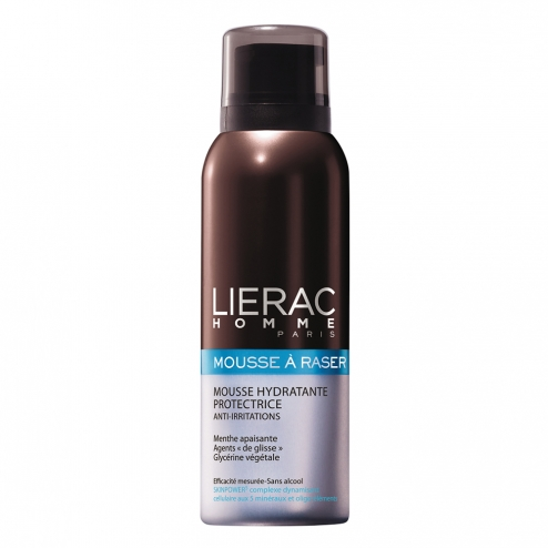 lierac homme mousse a raser hydratante anti irritations 150ml. Black Bedroom Furniture Sets. Home Design Ideas