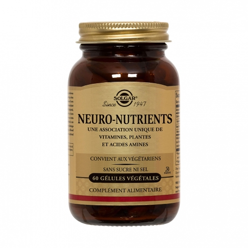 NEURO NUTRIENTS 60 GELULES VEGETALES SOLGAR