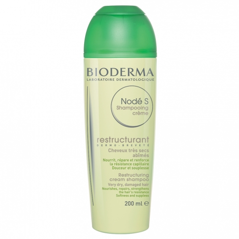 bioderma node shampooing creme restructurant cheveux tres secs et abimes 200ml. Black Bedroom Furniture Sets. Home Design Ideas