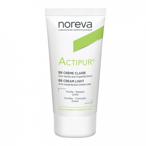 NOREVA ACTIPUR BB CREME ANTI-IMPERFECTIONS TEINTEE CLAIRE 30ML