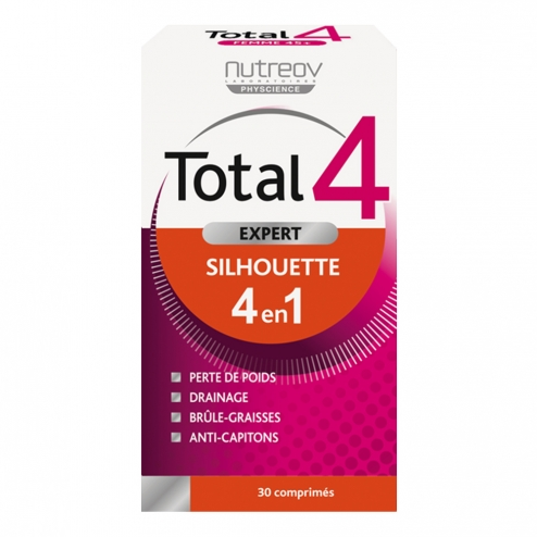 NUTREOV TOTAL 4 EXPERT SILHOUETTE 30 COMPRIMES